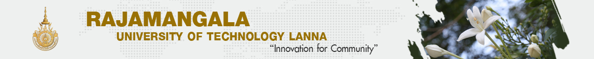 Website logo RMUTL Magazine issue11 | Faculty of Sciences and Agricultural Technology